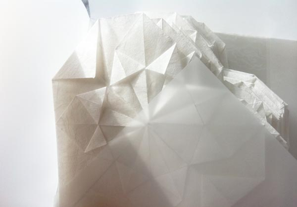 Coeur origami 1