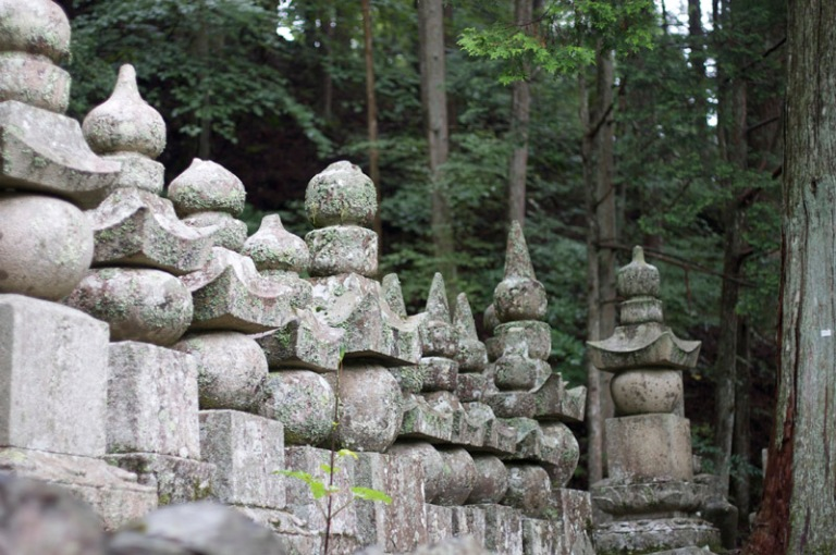 Koya steles