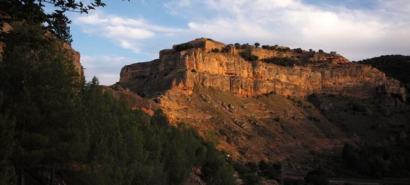 Décor de canyon