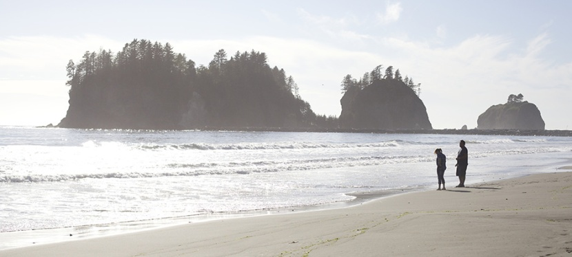 Plage de La Push, First beach.